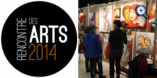 Les artistes vous attendent à Rencontre des arts